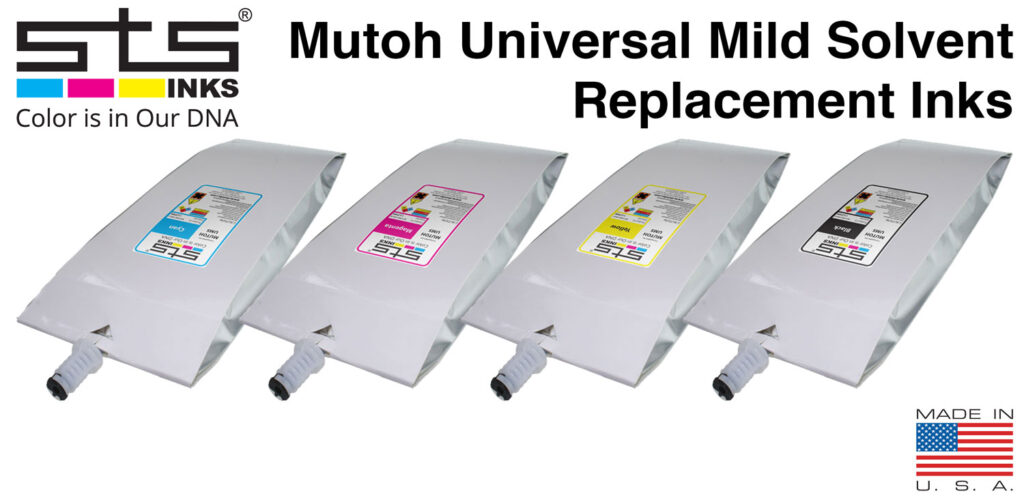 Mutoh Universal Mild Solvent Replacement Inks - STS Inks